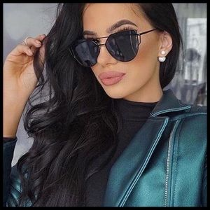 Accessories - RESTOCKED 🆕 Cat Eye Mirrored Aviator Sunglasses